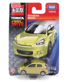 Tomica Funskool Cool Drive Mitsubishi Mirage Toy Car - Green