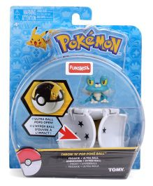 Pokemon Funskool Throw N Pop Poke Ball Assortment - White And Black