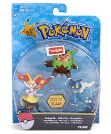Pokemon Funskool Action Figures - Pack Of 3