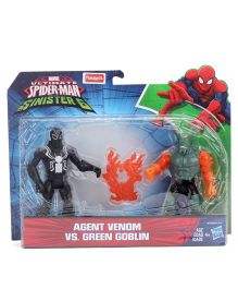 Marvel Funskool Battle Pack Agent Venom Vs Green Goblin - 14 cm