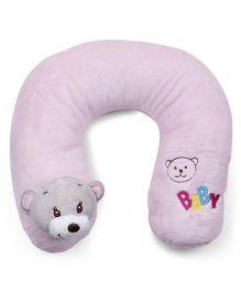 Panda Face Neck Support Pillow - Pink
