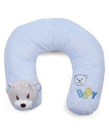 Panda Face Neck Support Pillow - Blue
