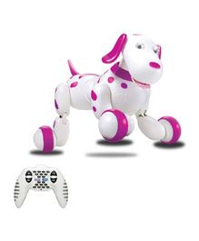 Emob Radio Control Smart Dog Series - Pink And White