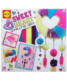 Alex Toys Sweetheart String Art Kit - Multicolor