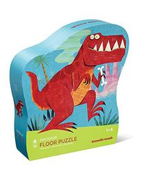 Crocodile Creek Dinosaur Shaped Puzzle - 36 Pieces