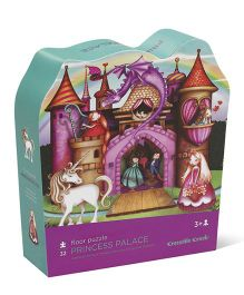 Crocodile Creek Princess Palace Shaped Puzzle - 36 Pieces