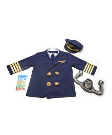 Melissa & Doug Pilot Role Play Set - Blue