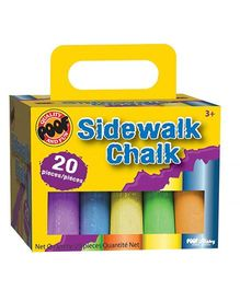 Melissa And Doug Chalk Sticks - 20 Pieces