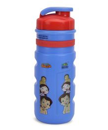 Chhota Bheem Insulated Sipper Water Bottle Red and Blue - 350 ml