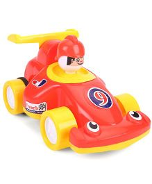 Luvely French Toy Racing Car - Red