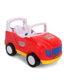 Luvely Safari Toy Car - Red