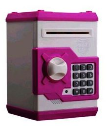 Emob Money Safe Smart Electronic Lock Piggy Bank - Pink