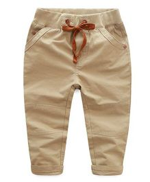 Pre Order : Mauve Collection Pants For Boys - Beige
