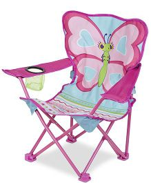 Melissa And Doug Butterfly Camp Chair - Pink