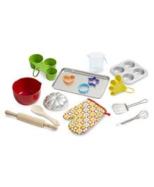 Melissa And Doug Baking Play Set Multicolor - 20 Pieces