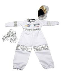 Melissa & Dough Astronaut Role Play Set - White