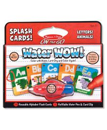 Melissa And Doug Water Wow - Red