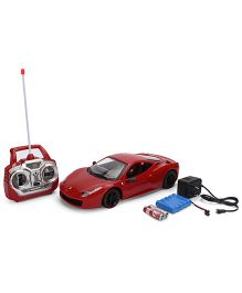 Smiles Creation Powerful Remote Control Car - Red