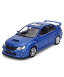 RMZ Subaru WRX STI Die Cast Car Toy - Blue