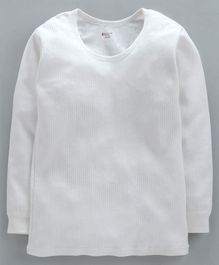 Bodycare Full Sleeves Thermal T-Shirt - Off White