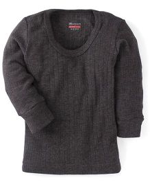 Bodycare Full Sleeves Thermal Vest - Grey