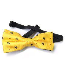 Wow Kiddos Bow Tie - Yellow