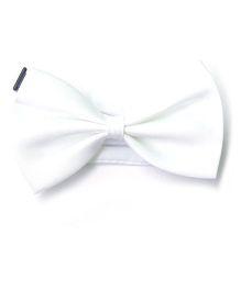 Wow Kiddos Bow Tie - White