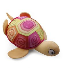 Baby Soft Turtle Shaped Pillow - Multicolor