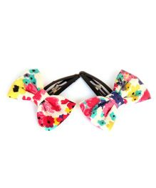 Pigtails & Ponys Flower Clips - Multicolour