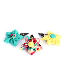 Pigtails & Ponys Felt Sailor Bow - Multicolour