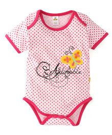 Tiny Bee Infant Girls Onesie - Pink