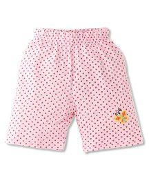 Tiny Bee Trendy Girls Shorts - Pink