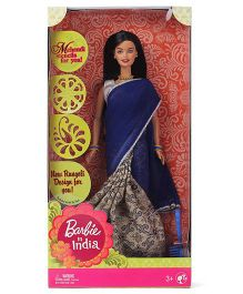 Barbie In India Doll - Blue White