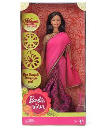 Barbie In India Doll - Pink Golden