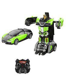 Little Tikes Remote Control Car Transformer Green - 21 cm