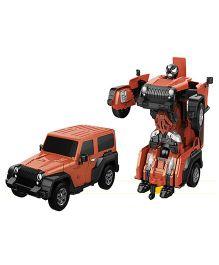 Little Tikes Remote Control Car Transformer Dull Orange - 21 cm