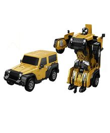 Little Tikes Remote Control Car Transformer Yellow - 21 cm