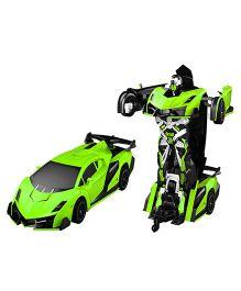 Little Tikes Remote Control Car Transformer Neon Green - 21 cm