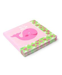 Charmed Celebrations Ocean Preppy Girl Lunch Paper Napkins - Pink
