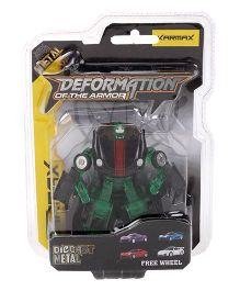 Karmax Deformation Diecast Car Cum Robot - Green