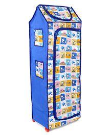 Kids Zone Big Jinny Folding Almirah Snoopy Print - Blue