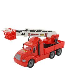 Kreative Box Mike The Fire Engine Toy - Red
