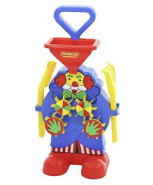 Kreative Box Clown Sand And Water Mill - Blue