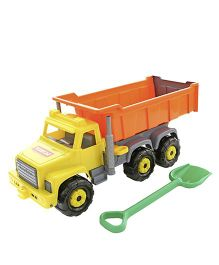 Kreative Box American Giant Dump Truck - Yellow Orange