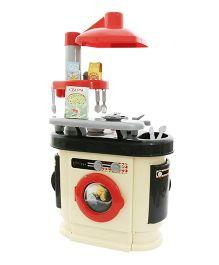 Kreative Box European Kitchen with Washing Machine