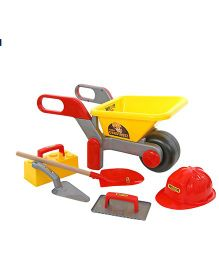 Kreative Box Construction Wheel Barrow Set - Multi Color