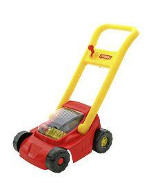 Kreative Box Lawn Mower - Red Yellow