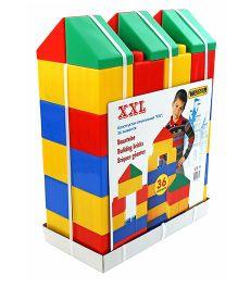 Kreative Box XXL Building Bricks Multi Color - 36 Pieces