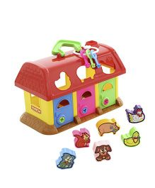 Kreative Box Zoo House Shape Sorter Set - Multi Color