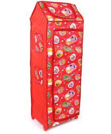 Kids Zone Big Jinny Folding Almirah - Red